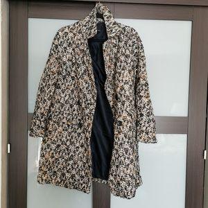 Zara  tweed coat sz xs